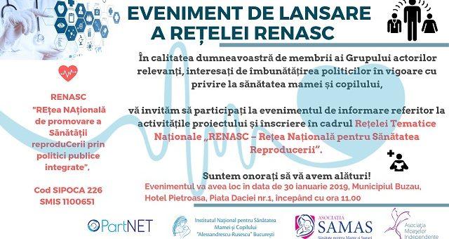 Cel de-al treilea eveniment de informare si dezvoltare a Retelei RENASC!