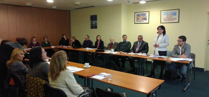 Interventii la primul eveniment regional de informare si dezvoltare a Retelei RENASC