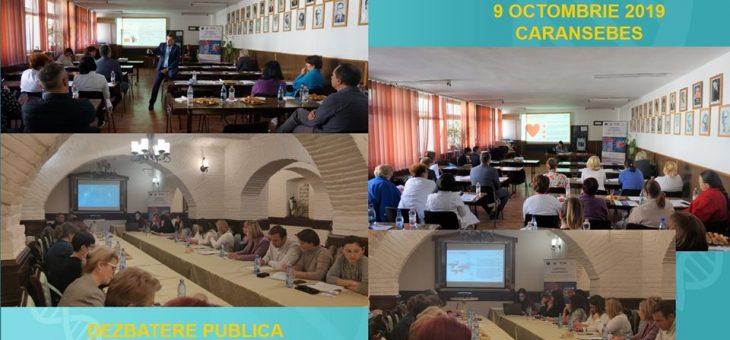 Dezbateri publice si activitatile lunii octombrie in cadrul proiectului RENASC