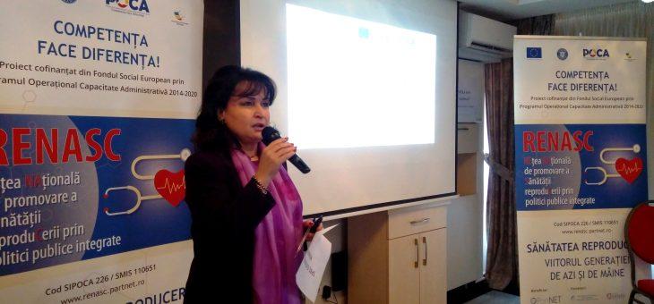 23 octombrie 2019, București – Dezbatere publica initiata de parteneriatul proiectului RENASC alaturi de actori importanti ai Sanatatii Reproducerii